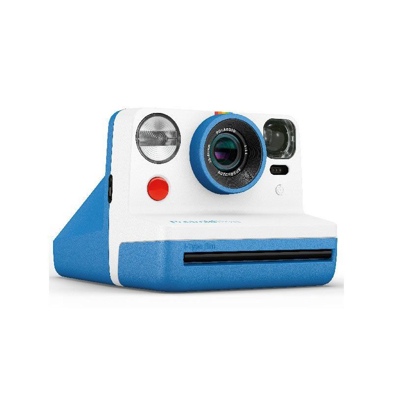 Image of Polaroid Now Instant Camera - Blue