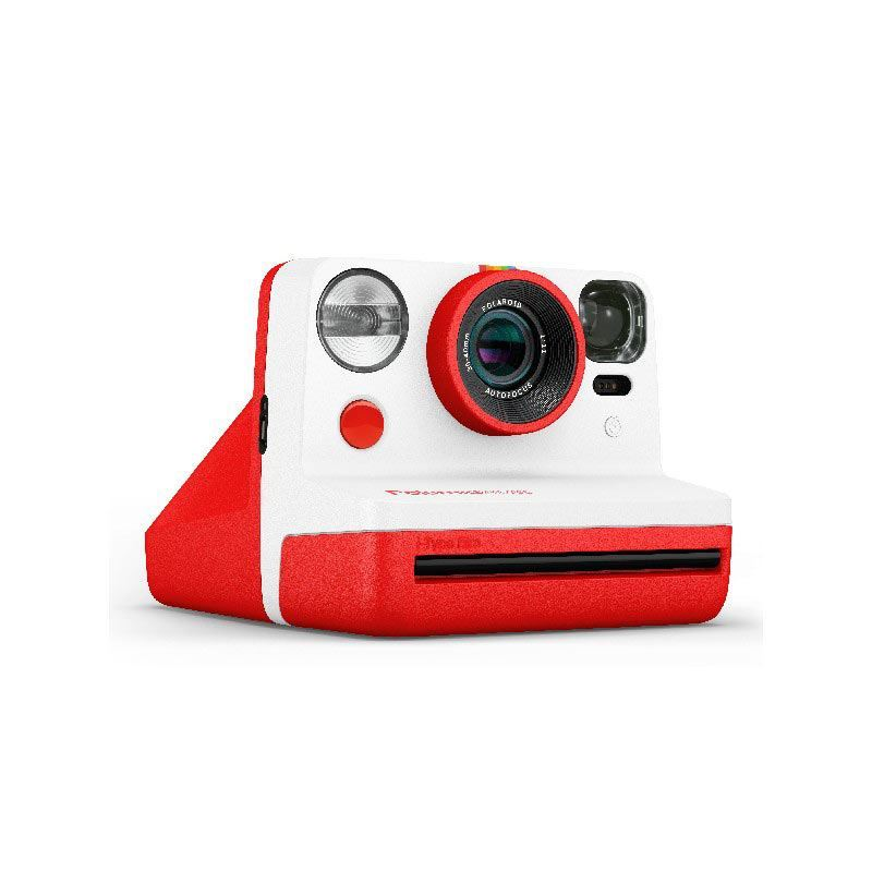 Image of Polaroid Now Instant Camera - Red