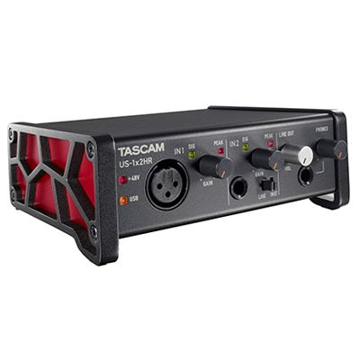 Image of Tascam US-1x2HR High-Resolution USB Audio Interface