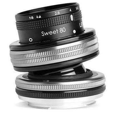 Lensbaby Composer Pro II with Sweet 80 Optic - Canon EF Fit