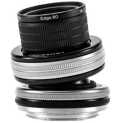 Lensbaby Composer Pro II with Edge 80 Optic – Nikon F Fit