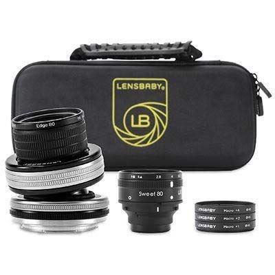 Lensbaby Optic Swap Macro Collection - Nikon F Fit
