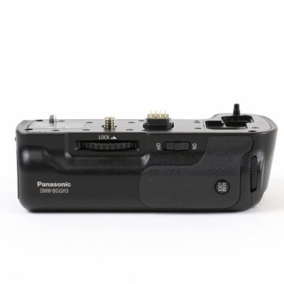 Used Panasonic DMW-BGGH3 Battery Grip for GH3/GH4
