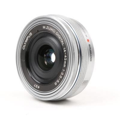 Used Olympus M.Zuiko Digital ED 14-42mm f3.5-5.6 EZ Lens - Silver