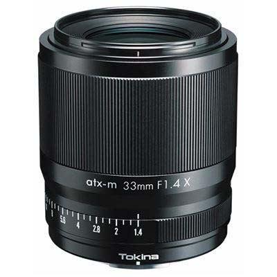 Tokina atx-m 33mm f1.4 Lens - Fujifilm X
