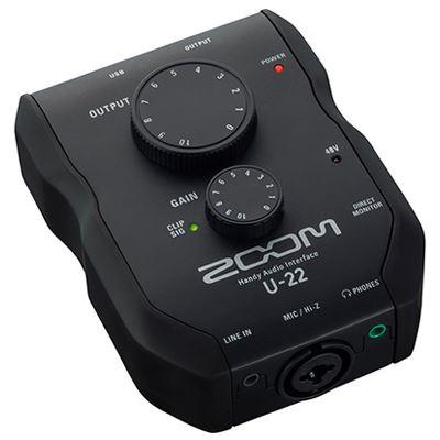 Image of Zoom U-22 Handy Audio Interface