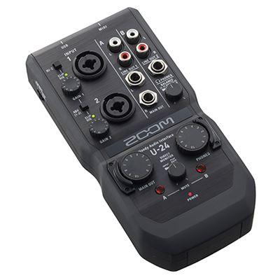 Image of Zoom U-24 Handy Audio Interface