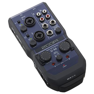 Image of Zoom U-44 Handy Audio Interface