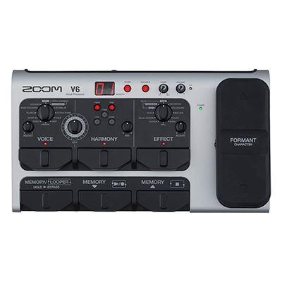 Image of Zoom V6 Vocal Processor