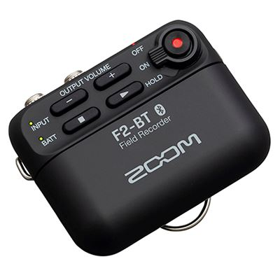 Image of Zoom F2-BT Field Recorder with Bluetooth and Lavalier Mic