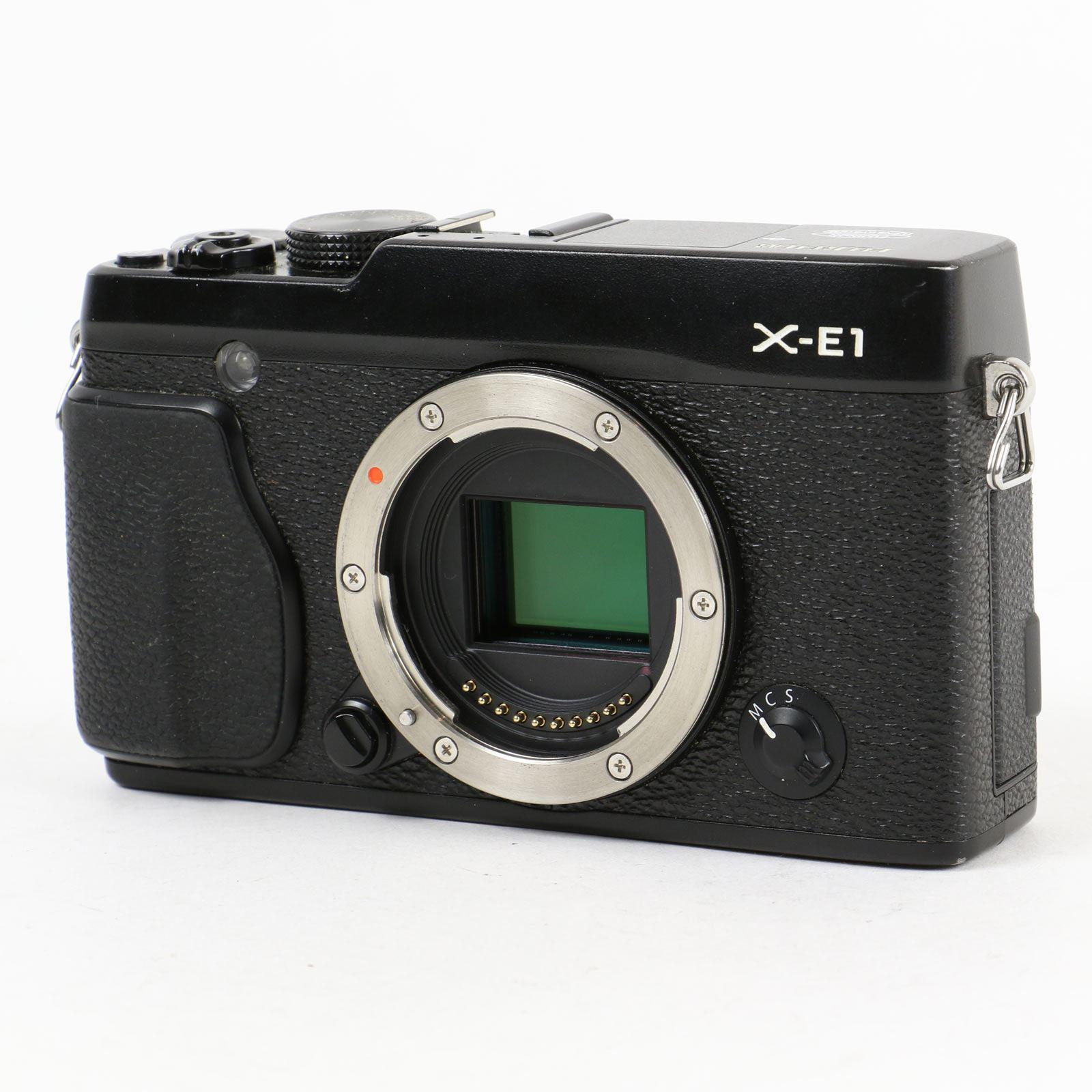Used Fuji X-E1 Digital Camera Body - Black