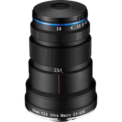 Image of Laowa 25mm f2.8 2.5-5X Ultra-Macro Lens for Canon RF