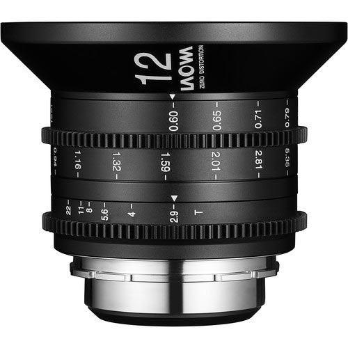 Laowa 12mm T2.9 Zero-D Lens for Canon EF (Feet)