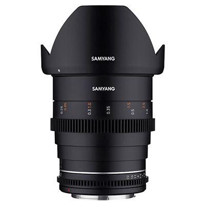 Samyang 24mm T1.5 VDSLR MK2 Lens - Canon RF