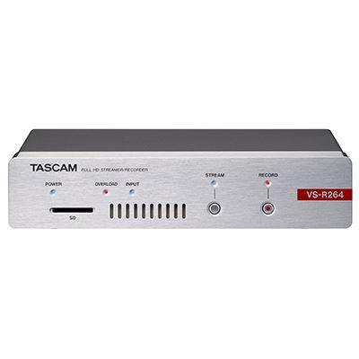Image of Tascam VS-R264 Full-HD Videostreamer and Recorder
