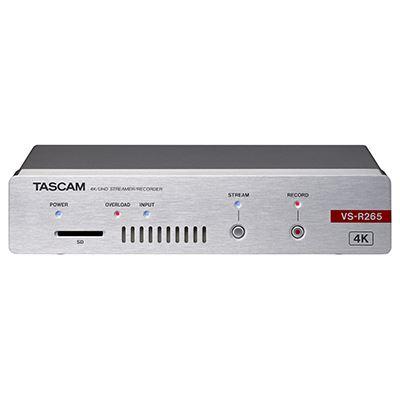 Image of Tascam VS-R265 4K Video Streamer/Recorder