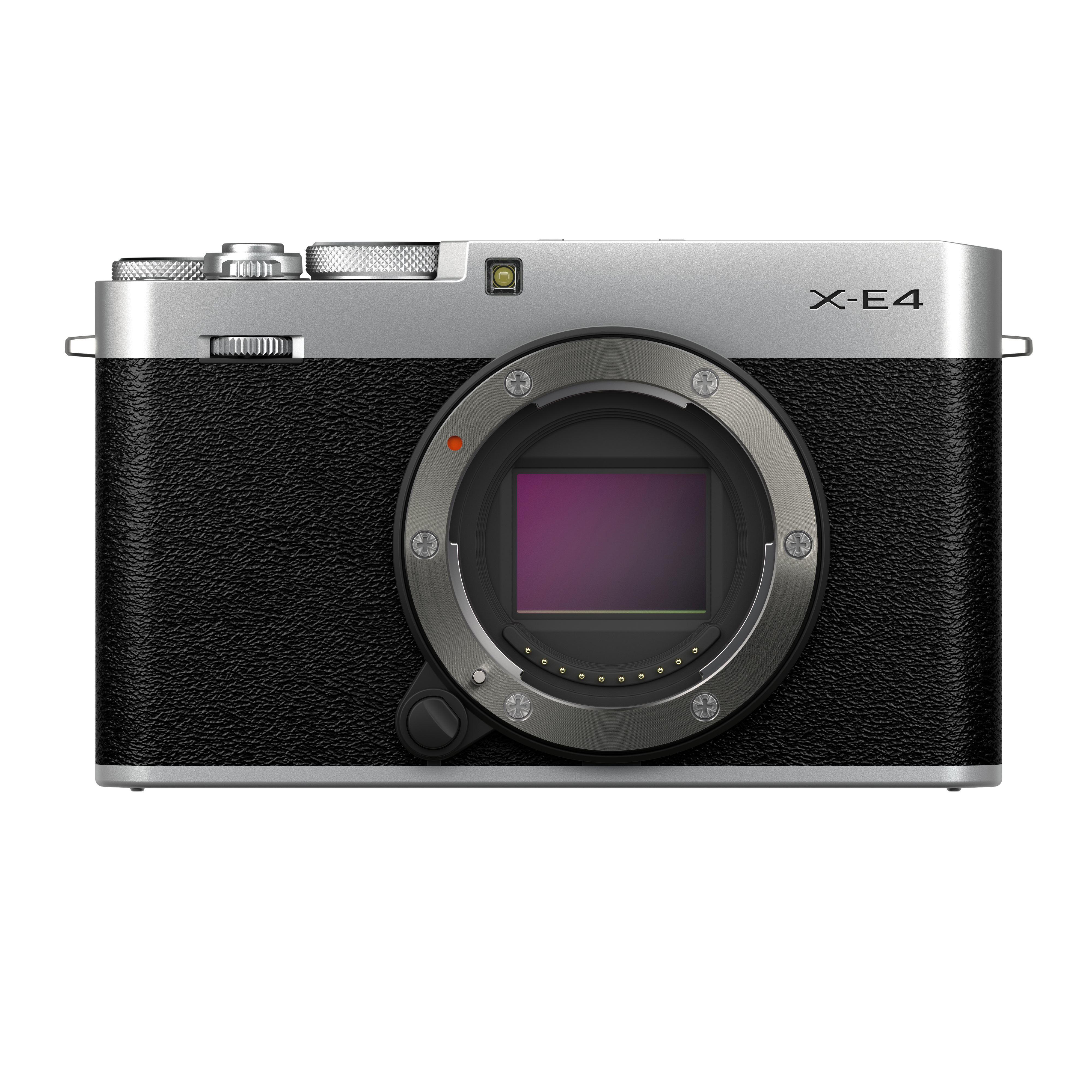 Image of Fujifilm X-E4 Digital Camera Body - Silver