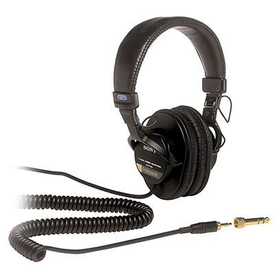 Sony MDR-7506 Professional Closed Back Production Headphones