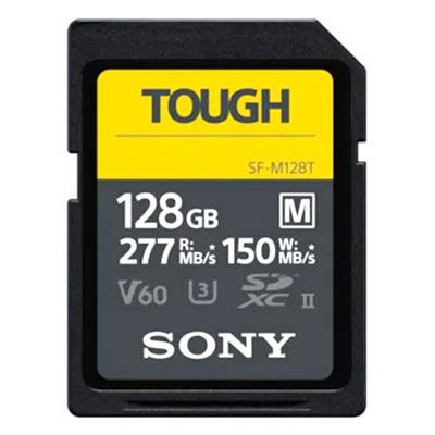 Image of Sony M Series TOUGH 128GB UHS-II 277MB/Sec SDXC Card