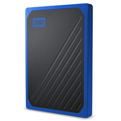 Image of WD 2TB My Passport Go Portable SSD - Black w/Cobalt Trim