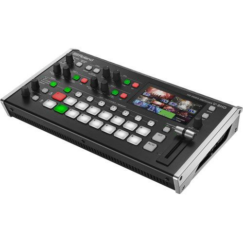 Image of Roland V-8HD 8CH Compact Full HD Video Switcher