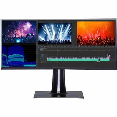 Image of Viewsonic VP3881 38 Inch 100% sRGB Curved Professional Monitor