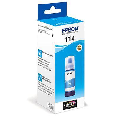 Epson T07B2 EcoTank 114 Ink Cyan