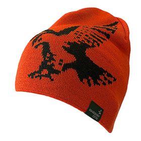 Swarovski Gear Merino Beanie Hat - Orange