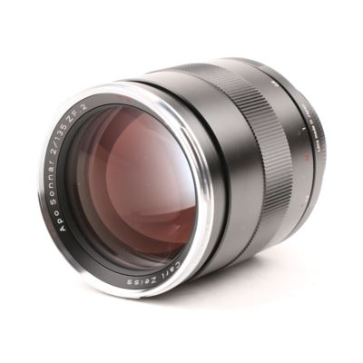 Used Zeiss 135mm f2 T* APO Sonnar ZF.2 Lens - Nikon Fit