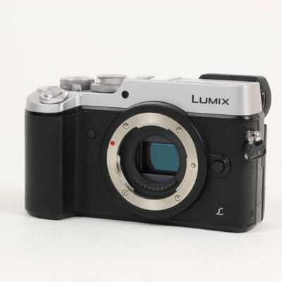 Used Panasonic LUMIX DMC-GX8 Digital Camera Body - Silver