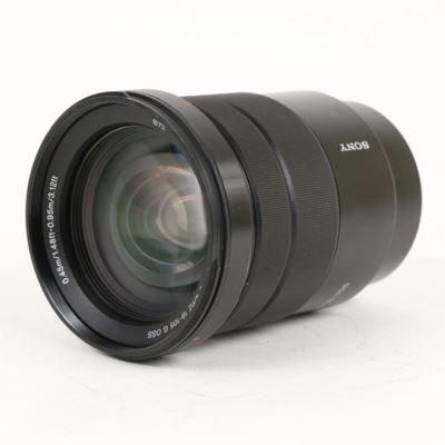 Used Sony E 18-105mm f4 G OSS Lens