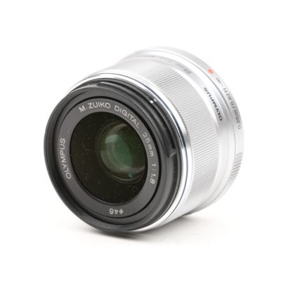 Used Olympus M.Zuiko Digital 25mm f1.8 Lens - Silver