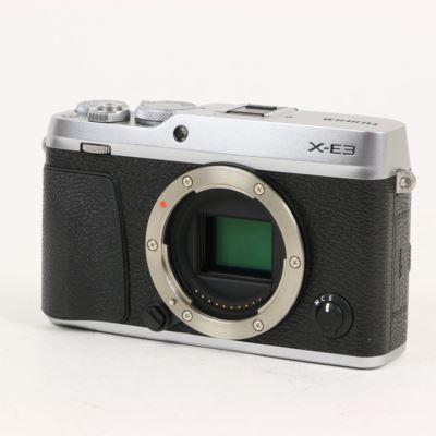 Used Fujifilm X-E3 Digital Camera Body - Silver