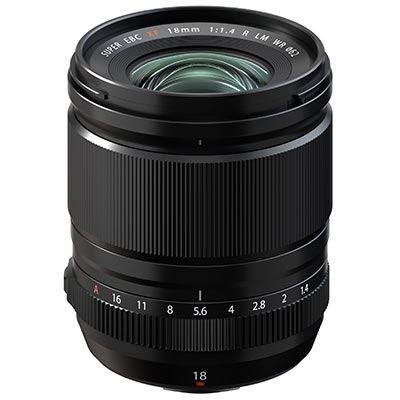 Fujifilm XF 18mm f1.4 R LM WR Lens
