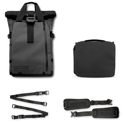 WANDRD PRVKE 21 Backpack Photography Bundle V3 - Black