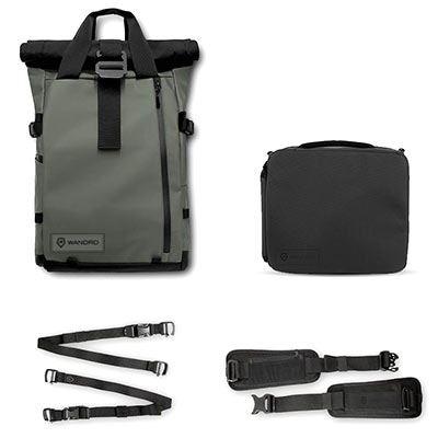 WANDRD PRVKE 21 Backpack Photography Bundle V3 - Wasatch Green