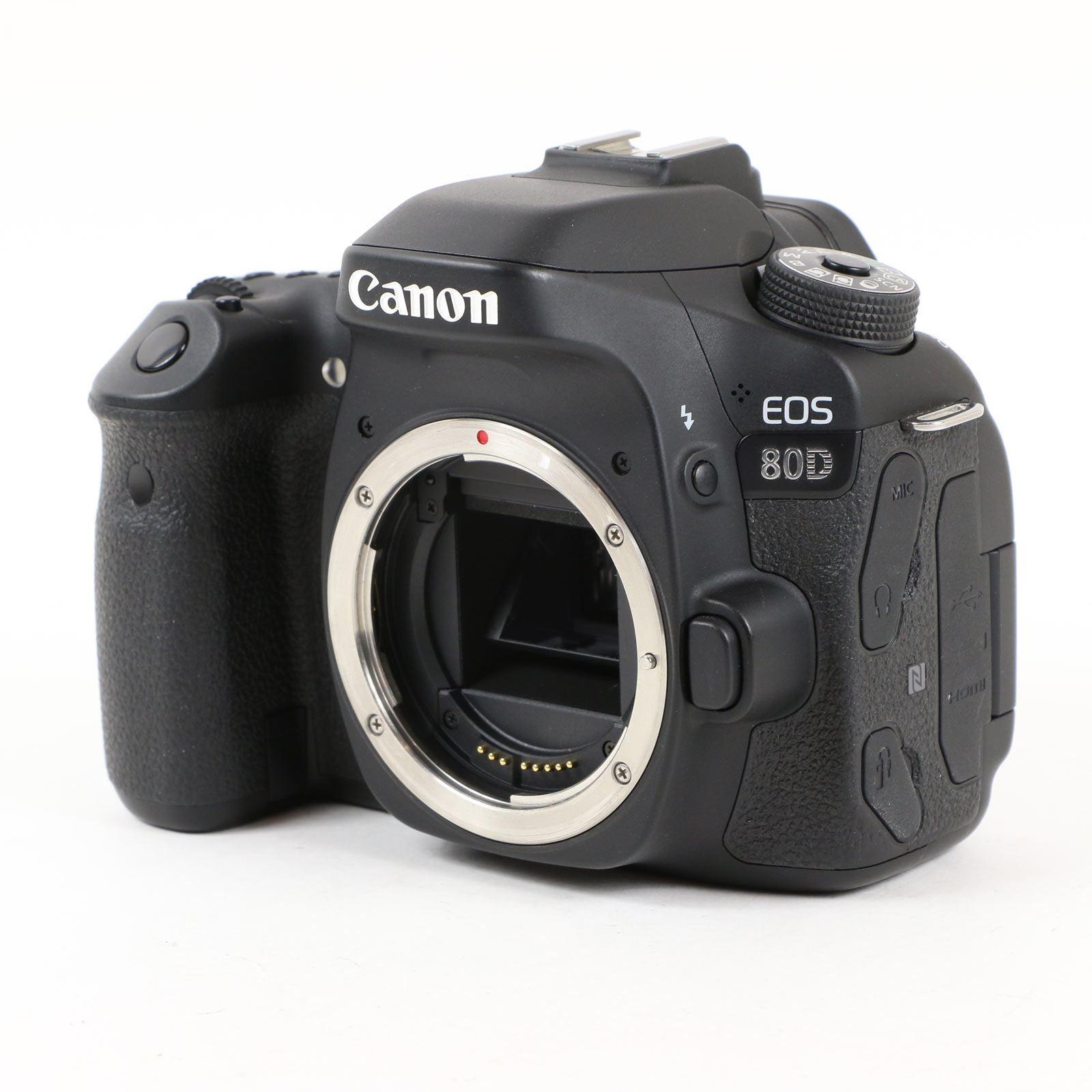 Used Canon EOS 80D Digital SLR Camera Body