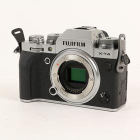 Used Fujifilm X-T4 Digital Camera Body - Silver