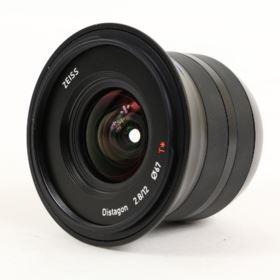 Used Zeiss 12mm f2.8 Touit Lens - Fujifilm X Mount
