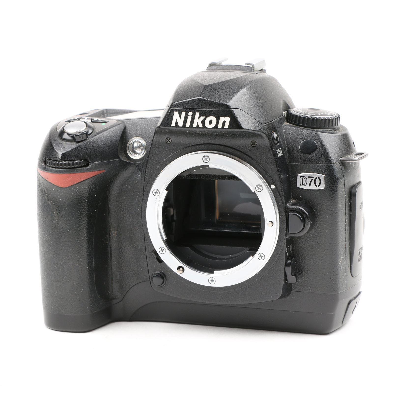 Used Nikon D70 Digital SLR Camera Body