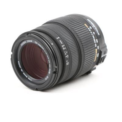Used Sigma 50-200mm f4-5.6 DC OS HSM Nikon Fit