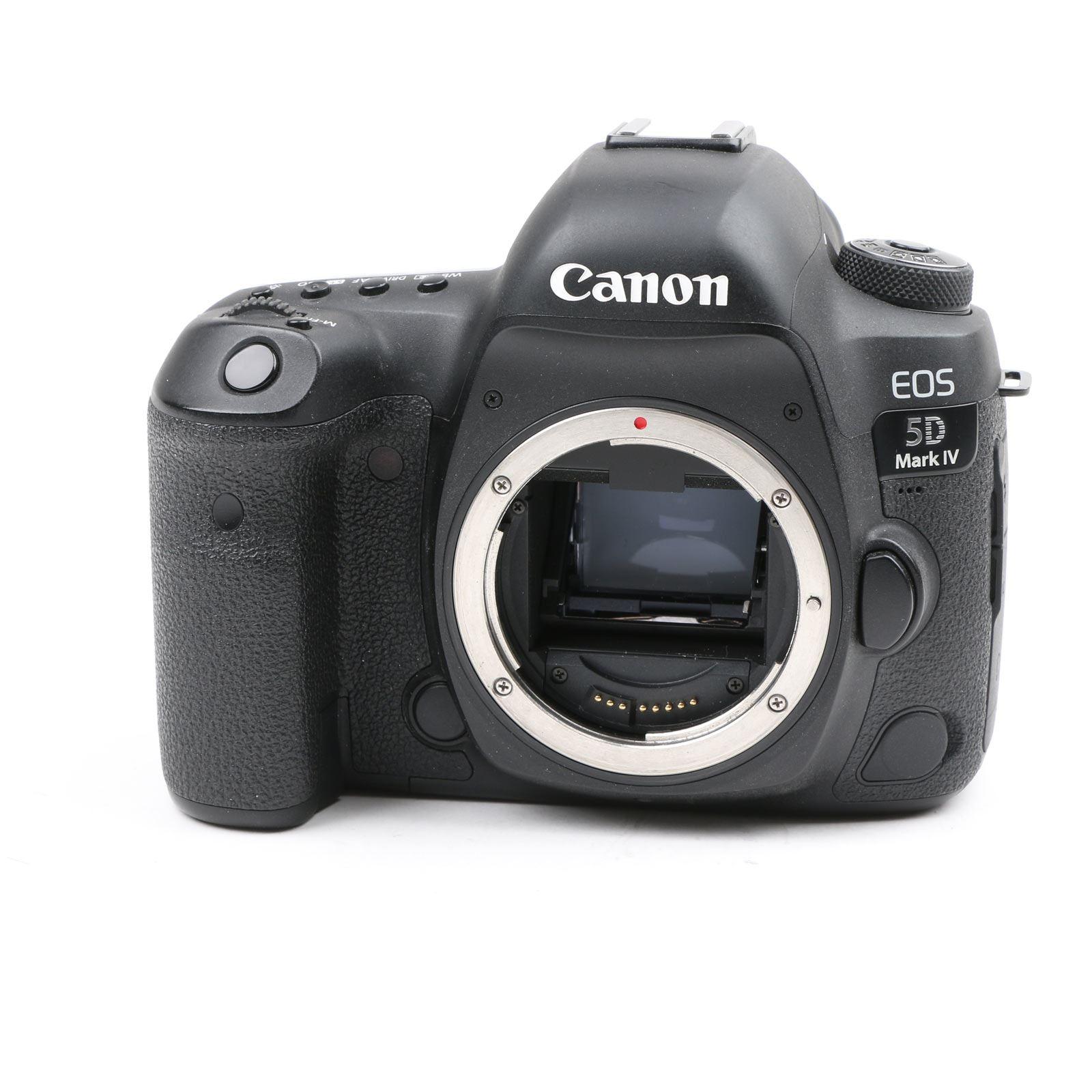 Used Canon EOS 5D Mark IV Digital SLR Camera Body