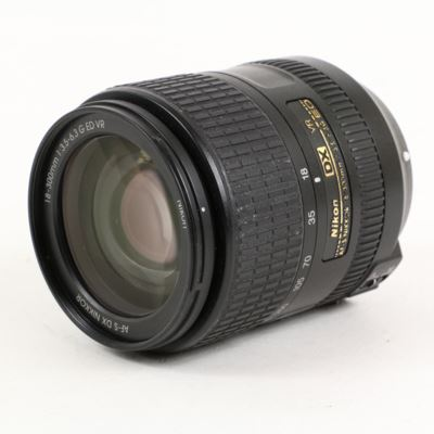 Used Nikon 18-300mm f3.5-6.3 G ED VR AF-S DX Lens