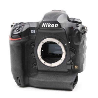 Used Nikon D5 Digital SLR Camera Body - Dual XQD