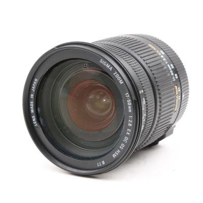 Used Sigma 17-50mm f2.8 EX DC OS HSM - Nikon Fit