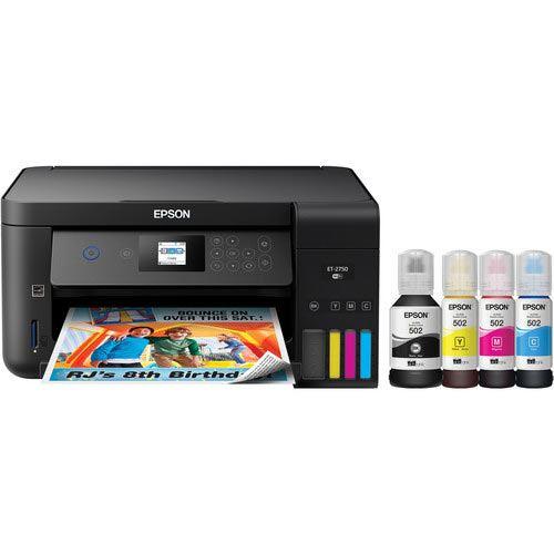Image of Epson EcoTank ET-2750 - multifunction printer - colour