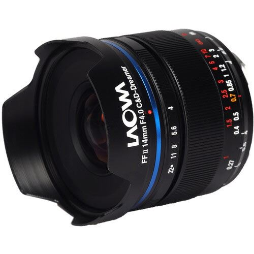 Image of Laowa 14mm f4 FF RL Zero-D Lens for Canon RF