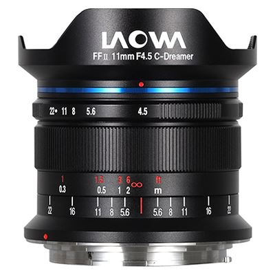 Image of Laowa 11mm f4.5 FF RL Lens for Canon RF