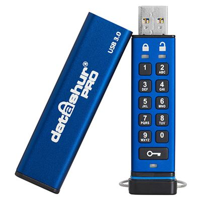 Image of iStorage datAshur PRO - USB flash drive - 64 GB