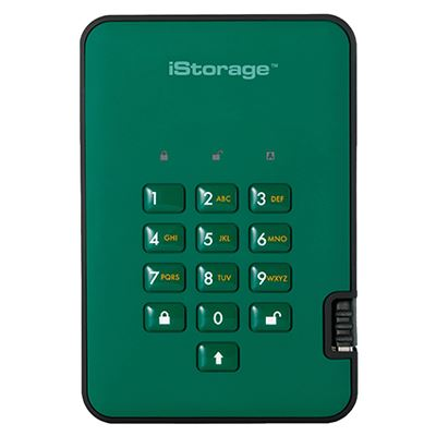 Image of iStorage diskAshur2 256-bit 2TB - Green